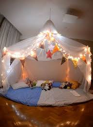 Build a fort or a sleeping tent